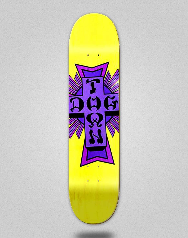 Dogtown CROSS LOGO WORK SHIRT Skateboard Shirt GREY XXXL 3X