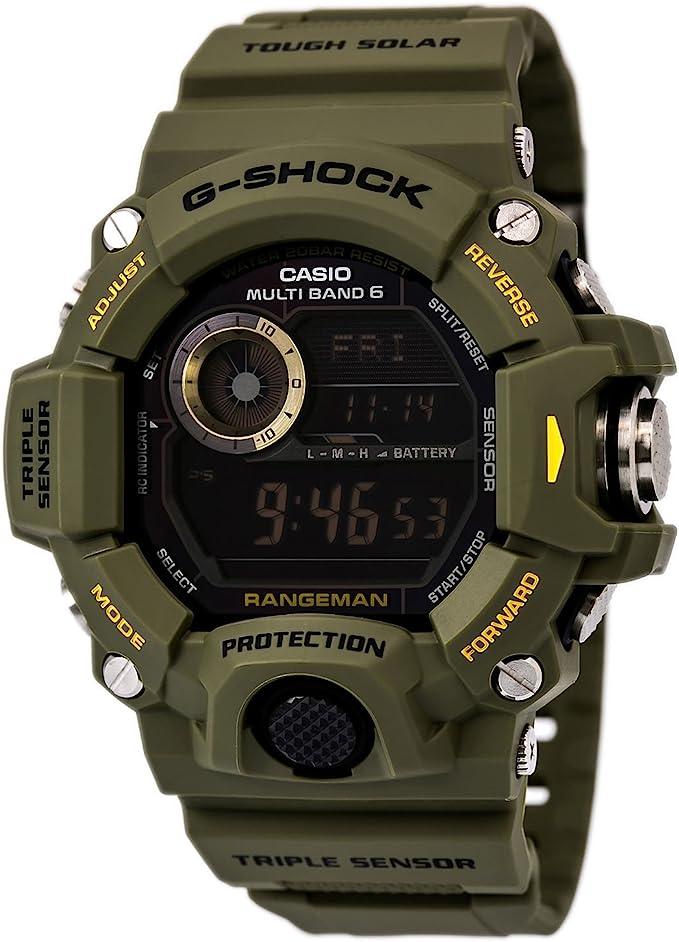 best watch for hunting: Casio G-Shock Rangeman GW-9400