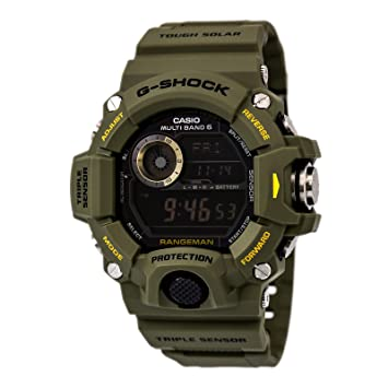 50545ba7a8a Casio G-Shock Rangeman Master Of G Series Stylish Watch - Green One Size