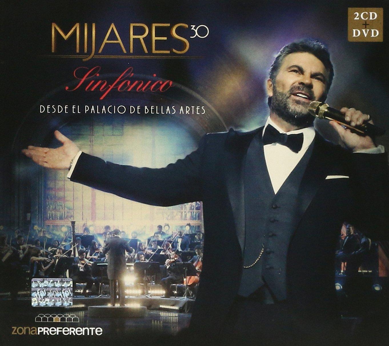 CD : Mijares  -30 Sinfonico Desde El Palacio De Bellas Artes