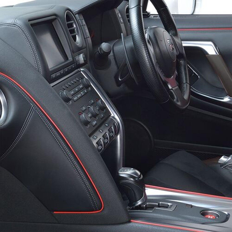5M Auto Innenraum Zubeh/ör//Interior Dcoration,Auto Zierleiste,YY-LC Einfacher Push-In Entfernbar 3D DIY Auto-Anreden,F/ür Universal-Autozubeh/ör,196 Zoll