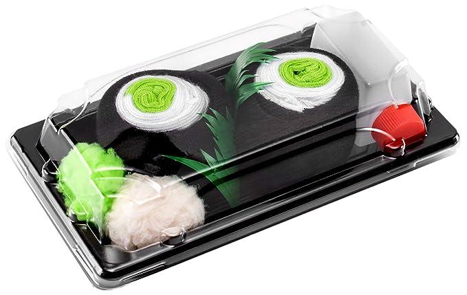 Sushi Socks Box - 1 par de CALCETINES: Maki de Pepino - REGALO DIVERTIDO,