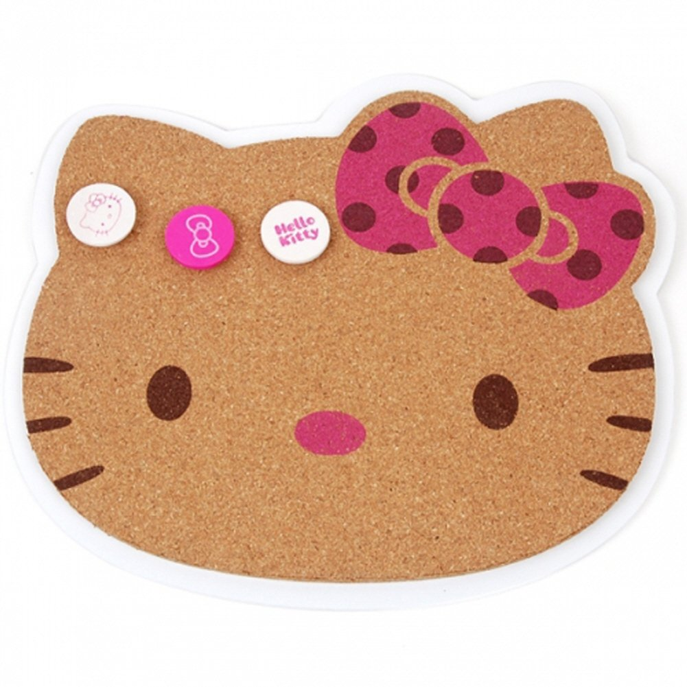 Hello Kitty 10 x 9 pulgadas, Boletín de corcho pizarra y 3 ...