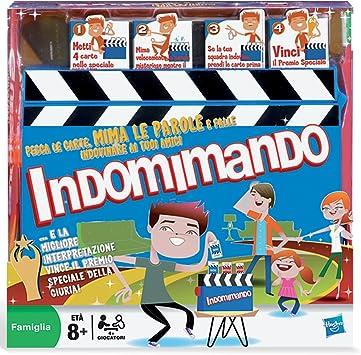 Hasbro - Gestos, Juego de Preguntas (versión en Italiano): Amazon.es: Juguetes y juegos