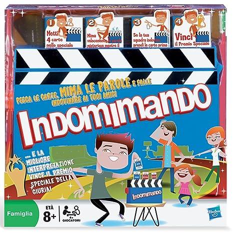 Hasbro Gestos Juego De Preguntas Version En Italiano Amazon Es