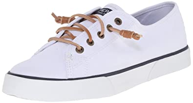 Sperry Top-Sider Women's Pier View Sneaker, White, 5 Medium US