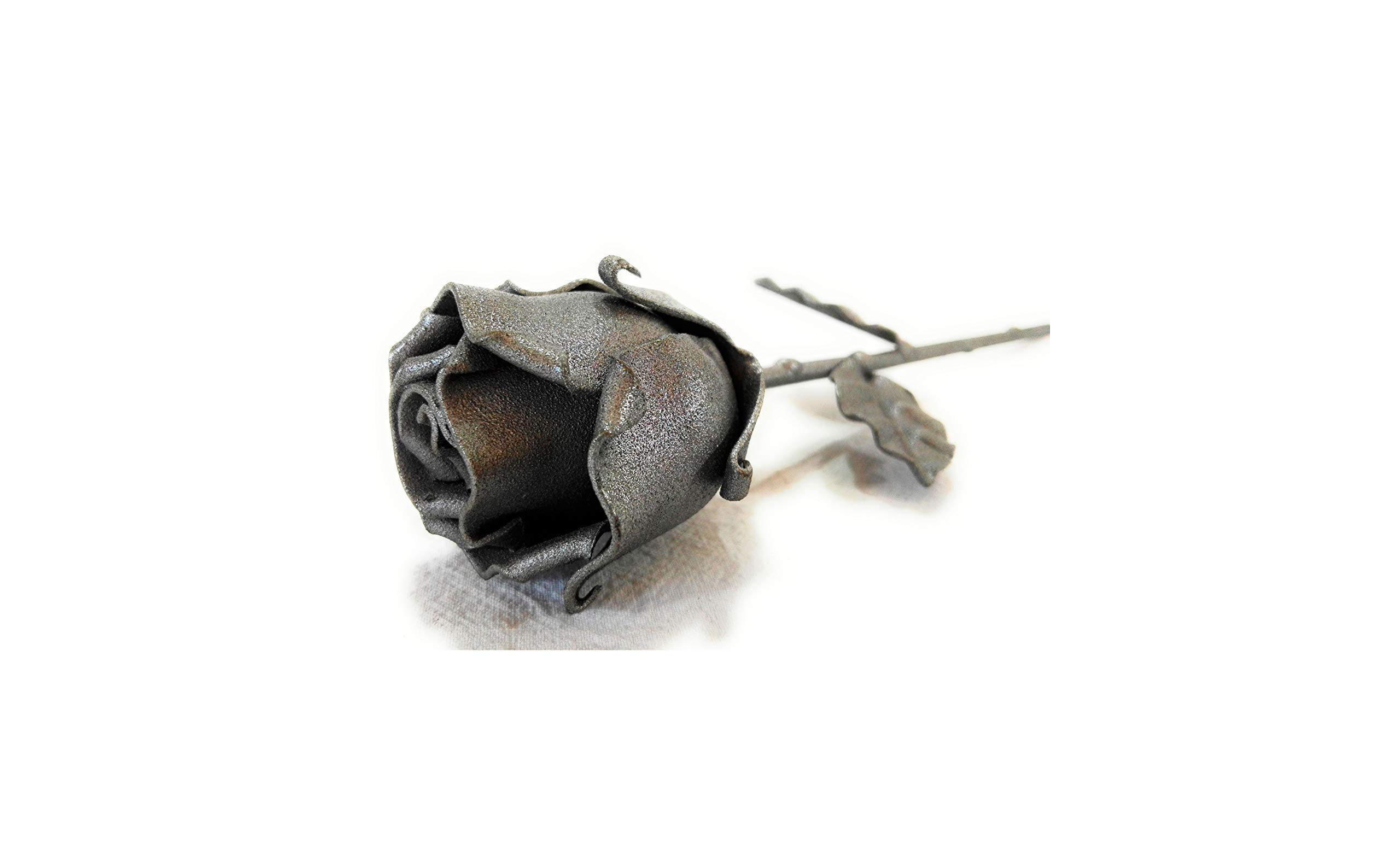 -Eternal-Rose-Hand-Forged-Wrought-Iron-GrayIdeal-gift-for-Valentines-Day-Mothers-Day-Couple-Birthday-Christmas-Wedding-Day-Anniversary-Decor-IndoorOutdoor