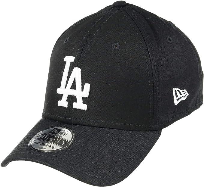 Los Angeles Dodgers schwarz New Era 39Thirty Stretch Cap