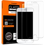 Spigen Tempered Glass iPhone 8 Plus Screen Protector [ Case Friendly ] [ 9H Hardness ] for Apple iPhone 8 Plus (2 Pack)