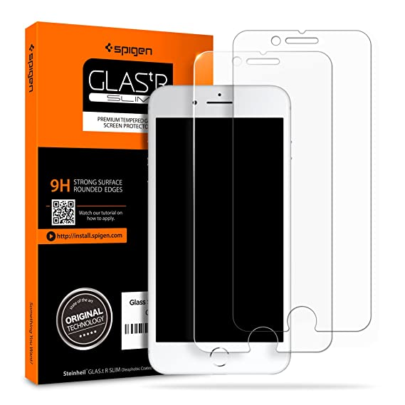 Giveaway iphone 8 plus case with screen protector built in clear