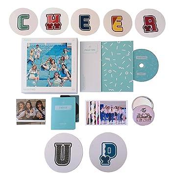 TWICE 2nd Mini Album PAGE TWO Photocard KPOP JYP CHEER UP