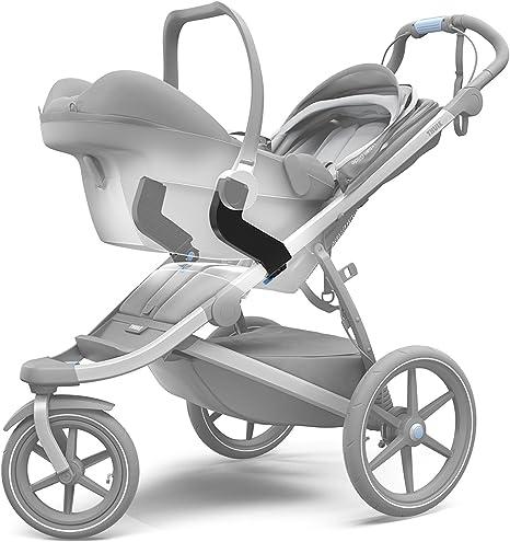Adattatore per Seggiolino Auto Unisex Bambini Nero Thule 20110740 Taglia Unica