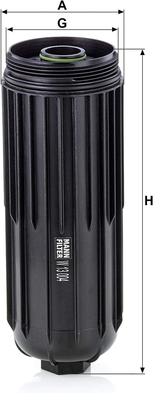 Mann Filter W13004 /Ölfilter
