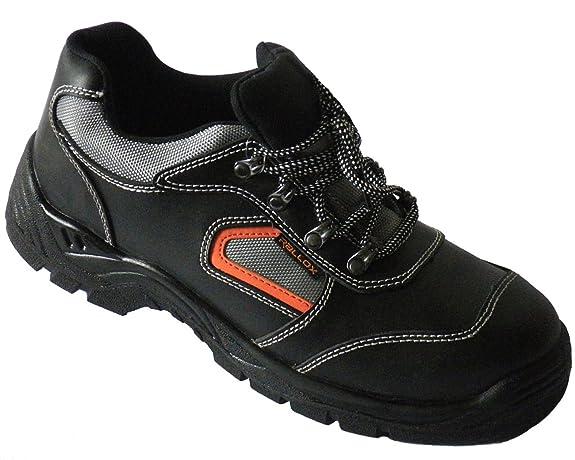 Arbeitsschuhe Sicherheitsschuhe schwarz echt Leder S3