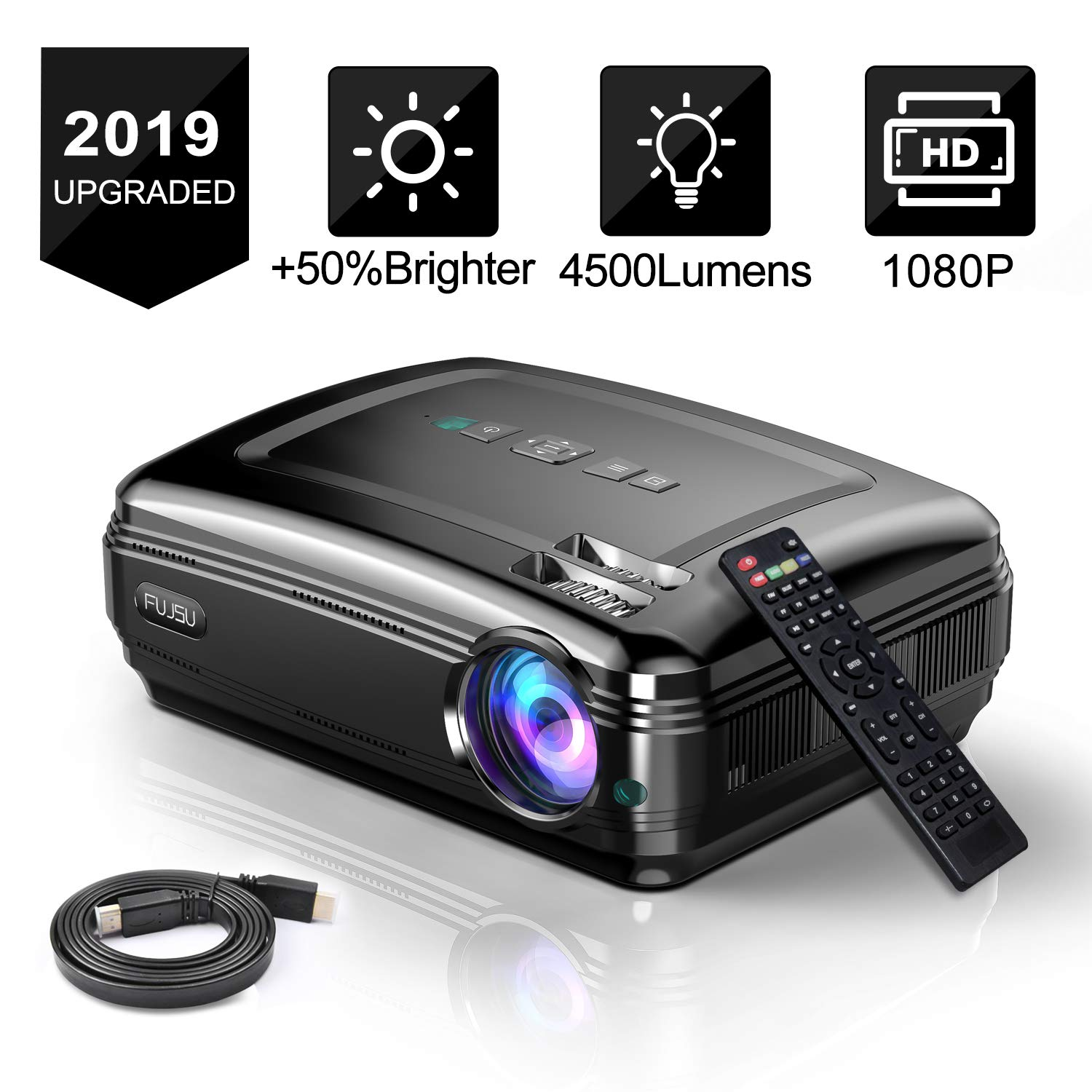 Proyector de Video con presentador HD LED LCD 1080P 3500 Lumen ...