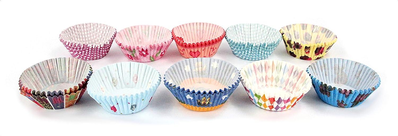 est/ándar 75 piezas Miss Bakerys House/® /Ø 50 mm x 30 mm papel coral Moldes para magdalenas