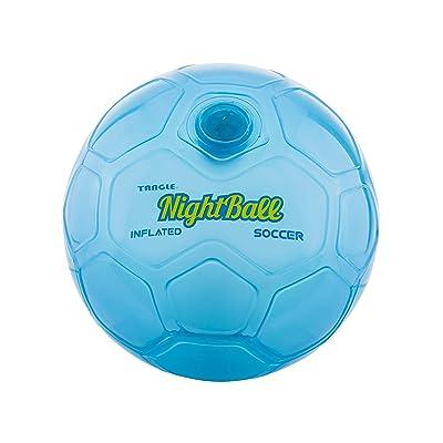 Nightball Tangle LED Light Up Soccer Ball Blue: Toys & Games