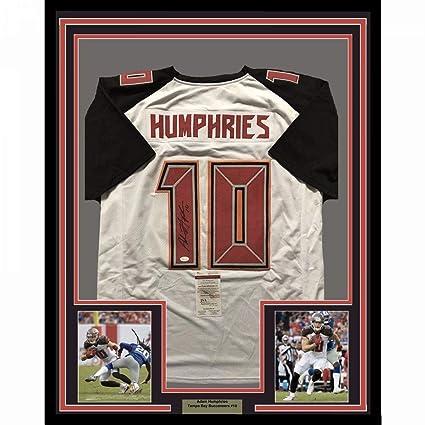 best website fc2af 1ea88 Adam Humphries Autographed Jersey - FRAMED 33x42 White COA ...