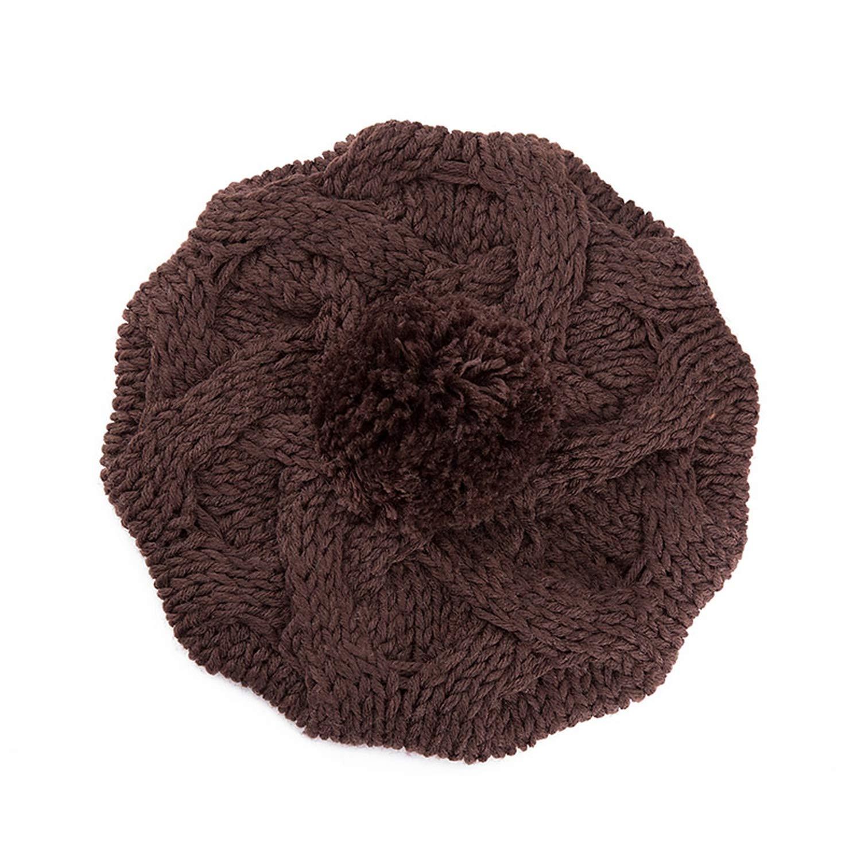Winter Women Hats Knitted Beanies Pom Pom Hat Fashion Skullies Beanies Female Caps Lady Skullies Hats