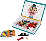 Janod J02716 Magneti'Book Crazy Faces Educational Game, Boys