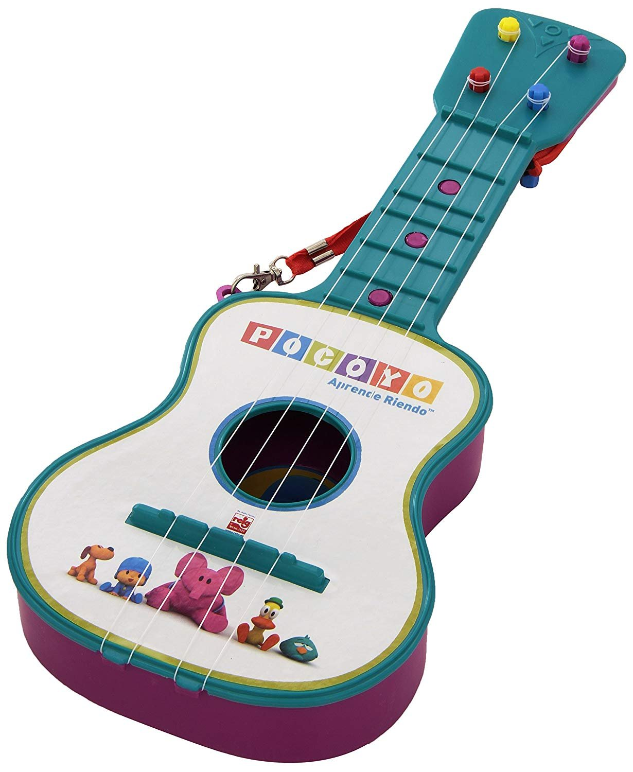 Pocoyo 4 String Blue Guitar Ages 3+
