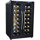 Amazon Com Edgestar 32 Bottle Dual Zone Wine Cooler With