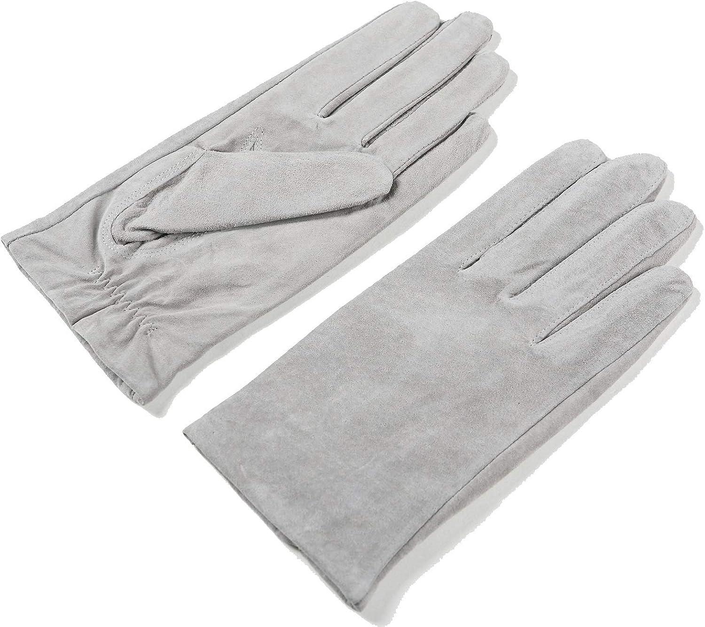 Water//Moisture-Resistant Driving Ambesi Men/'s Gloves Blk Soft Lambskin Leather