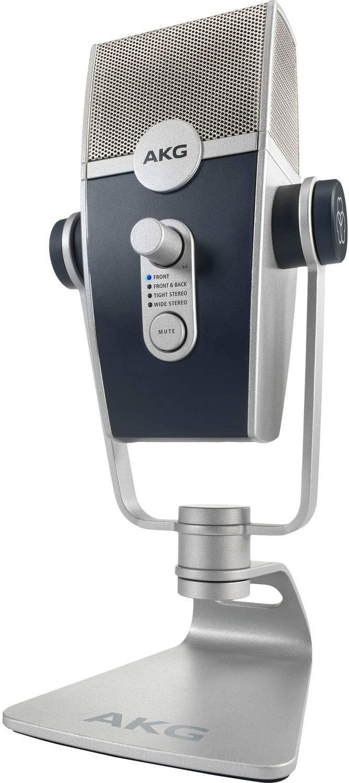 micrófono de condensador USB-C para grabación y transmisión