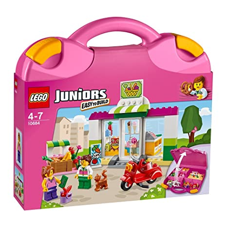 LEGO Juniors 10684 - Supermarkt Koffer