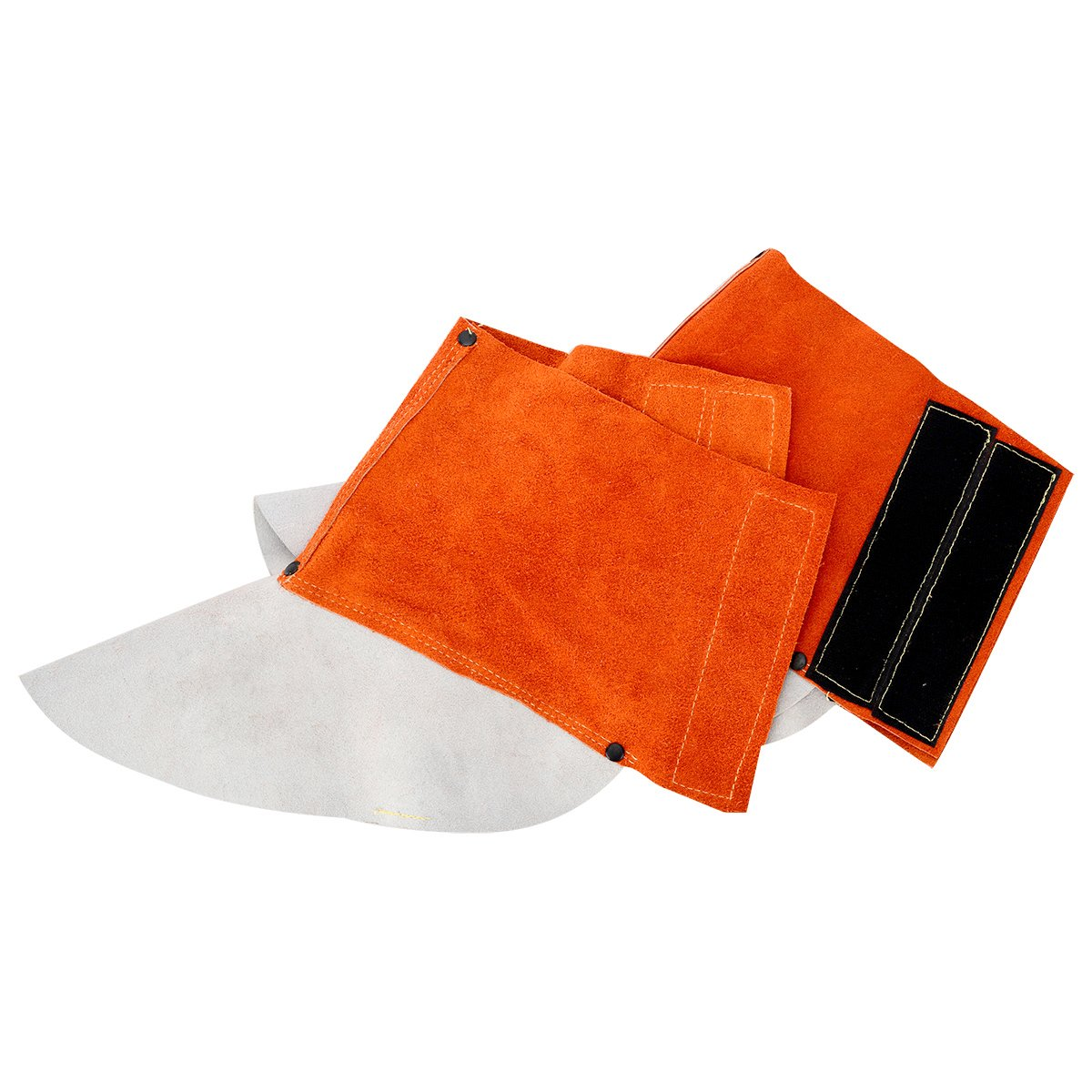 Heat and Abrasion Resistant Welding Boot Covers Shoes Protectors Welding Gaiters 1 Pair QeeLink Leather Welding Spats