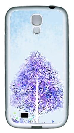 brian114 Samsung Galaxy S4, S4 Funda Color blanco funda ...