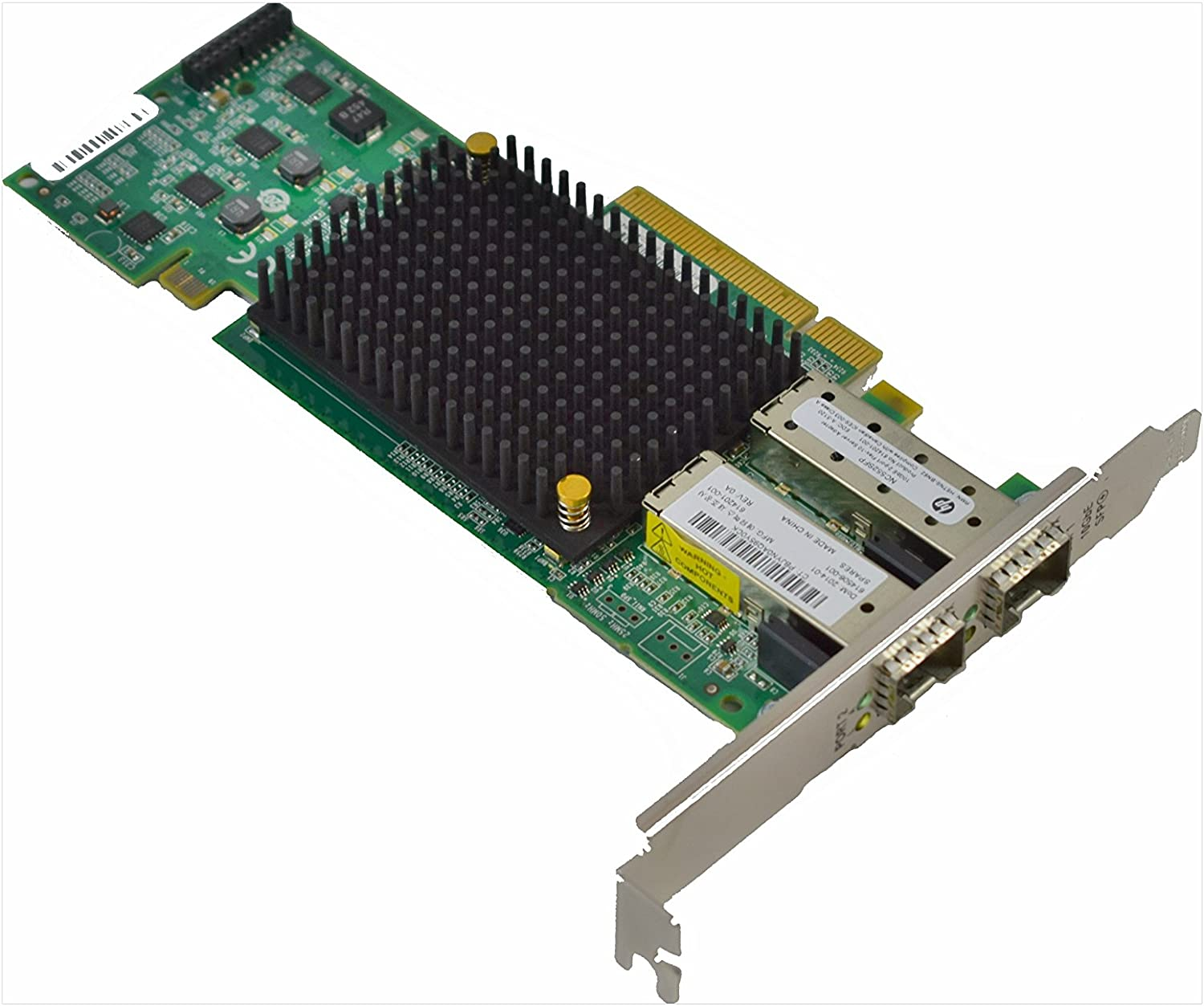HP | 614203-B21 | NC552SFP | 10Gb 2-port PCI Express x8 Ethernet Server Adapter