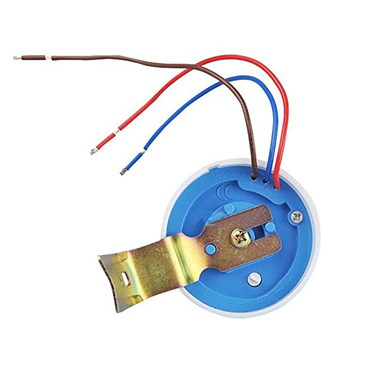 Detector Sensor Interruptor Conmutado 10 a 220 V Para Las Lámparas de Luz Lámpara LED de Exterior: Amazon.es: Bricolaje y herramientas
