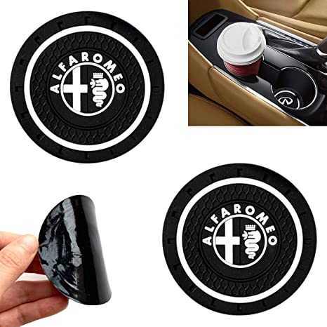 Amazon.com: MonboAuto - Posavasos con logotipo de coche, 1.0 ...