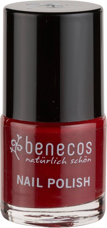Amazon.com : BENECOS - Nail Polish Cherry Red - Formaldehyde-free ...