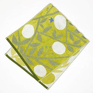 Historia de viaje Ehime Iori Mikan - toalla de tocador por Yurio Seki imabari toalla Japón, algodón mixto, Amarillo, 30x80cm: Amazon.es: Hogar