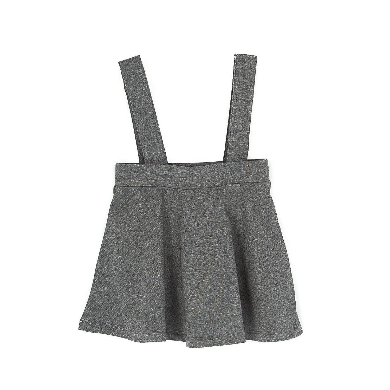 Coconut Cotton Girls Kids/Toddler Suspender Skirt Fashion Overall Dress