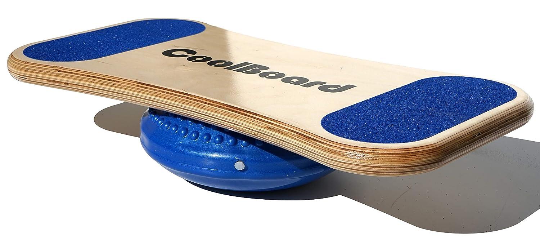 96 5000 CoolBoard Superior Wobble Board - einstellbar - unterhaltsame Fitness - Anfänger Balance Trainer