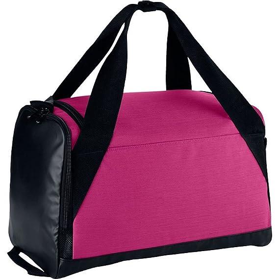 aecebef140d8 Nike Brasilia Duffel Bag (X-Small) Vivid Pink Black White  Amazon.in  Bags