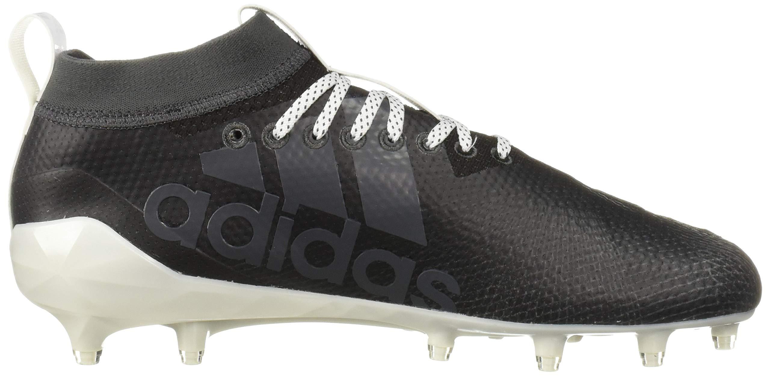 adidas Men's Adizero 8.0 Football Shoe Black/White/Grey 6.5 M US by adidas (Image #7)