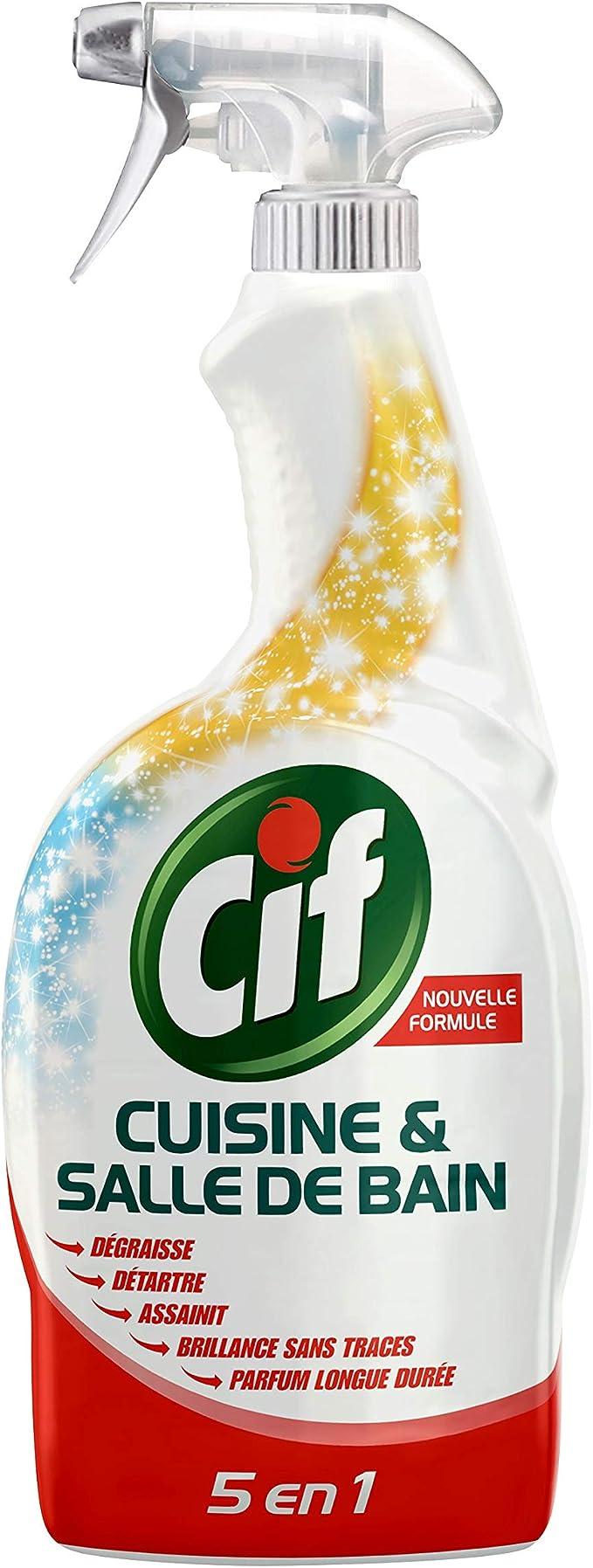 Cif-Pistola De Spray Limpiador De Cocina Y Cuarto De Baño, 20 Ml