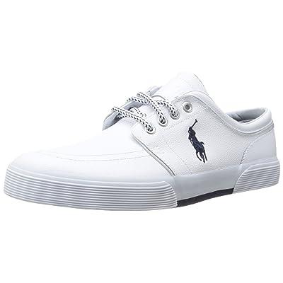 Polo Ralph Lauren Men's Faxon Leather Fashion Sneaker | Fashion Sneakers
