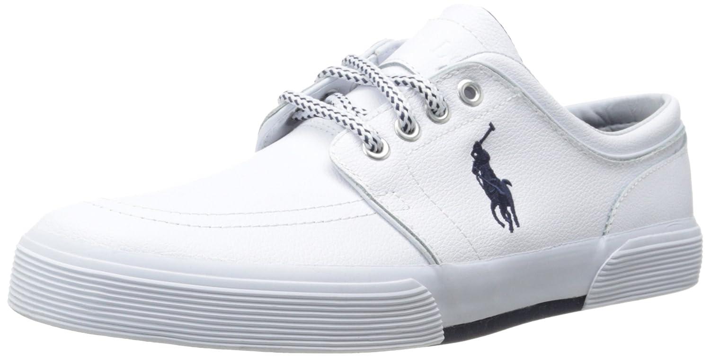 Polo Ralph Lauren Men's Faxon Leather Fashion Sneaker Faxon Low-sk-vlc