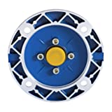 Happybuy Speed Reducer Ratio 15/1 Worm Gear Speed