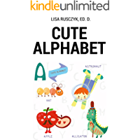 Cute Animal Alphabet: My First Alphabet Book for Kids (I Love You...Bedtime stories children's books 3) (English Edition)