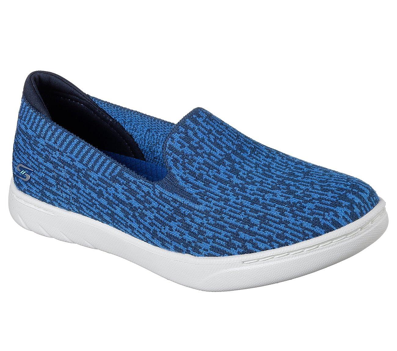 Skechers Active Millennial-23535 Damens's Slip Blau On Navy, Blau Slip 60115d