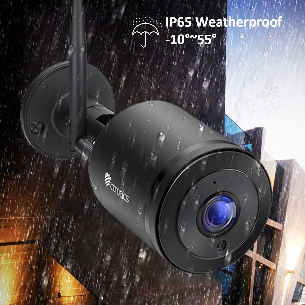 Fisheye/)Ctronics Wlan IP Kamera, 720P /Ü berwachungskamera
