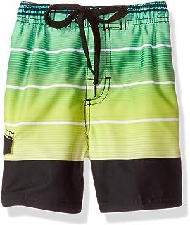 d98bf1538291d Amazon.com: Kanu Surf Boys' American Flag Swim Trunk: Clothing