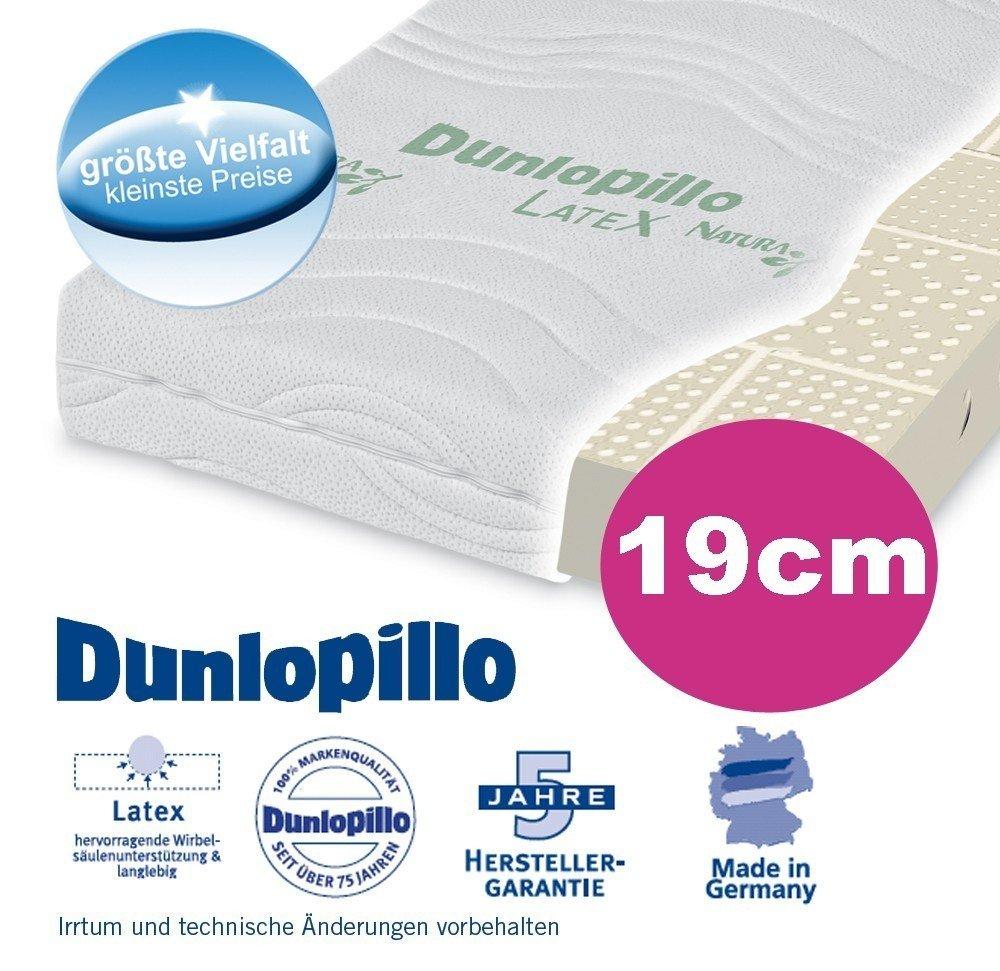 Dunlopillo Natura 1600 de látex natural de colchón/80 x 200 cm H3: Amazon.es: Hogar