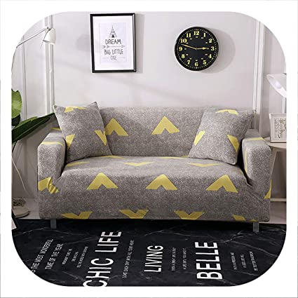 Amazon.com: crack of dawn 1/2/3/4-seater Printed Sofa Cover ...